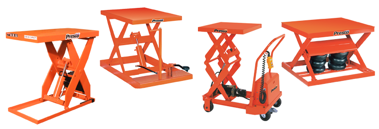 Presto Lifts Scissor Lift Tables