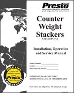 Counter Weight Stackers Manual