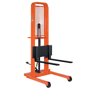 Manual Stacker with Forks