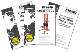 Push Stackers with Manual or Powered Lift