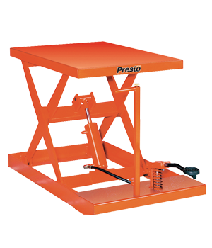 Light-Duty Manual Scissor Lift Table